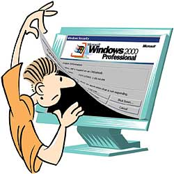 Is Windows 2000 an unsafe platform for online money transaction?