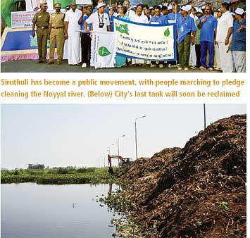 Coimbatore attempts to save waterbodies