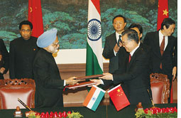 China only ready to back India (Credit: PIB)