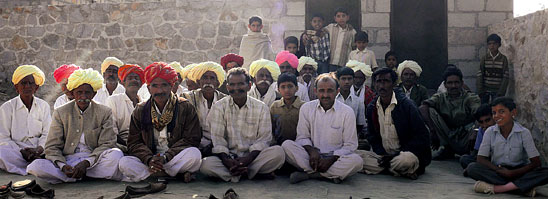 Barmer farmers protest Jindal power project