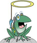 Hospital infections fear frogs
