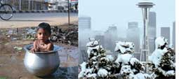 Changing climate Jharsuguda to seattle