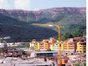 Lavasa hill station project ou (Credit: Nidhi Jamwal)