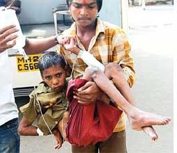 Hunger kills boy