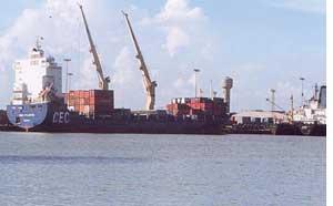 Port end
