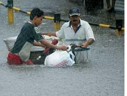 More floods, no winter