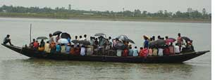 People from Sunderbans are left with no choice but to migrate to cities (Credit: J BASU)