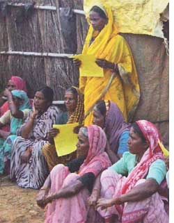 Gohali villagers resisted eviction once (Credit: APARNA PALLAVI)