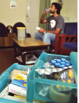 Stored drugs can be used (Credit: MEETA AHLAWAT)