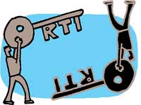 RTI in reverse gear