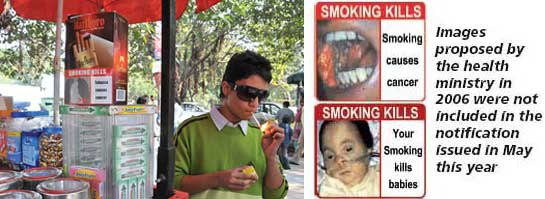 Attractive cigarette packs may go up in smoke
