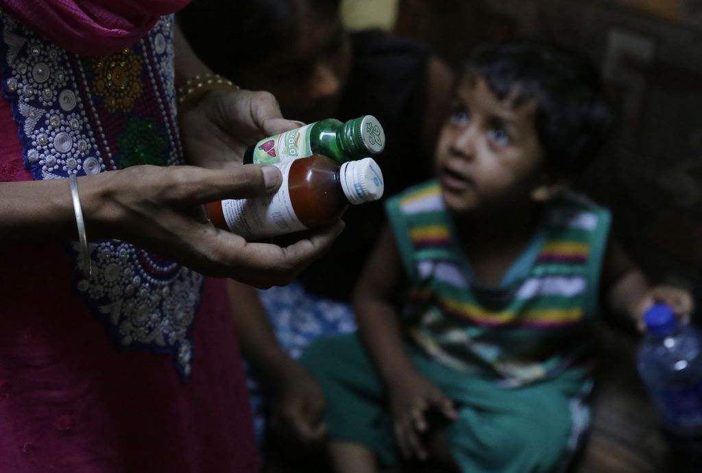 Nutrition interventions, with an already faltering coverage, hit a blockade due to COVID-19 disruptions. Photo: Vikas Choudhary