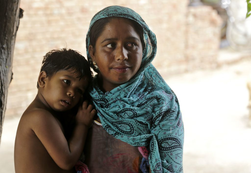 Child malnutrition is a chronic problem in India. Photo: Vikas Choudhary