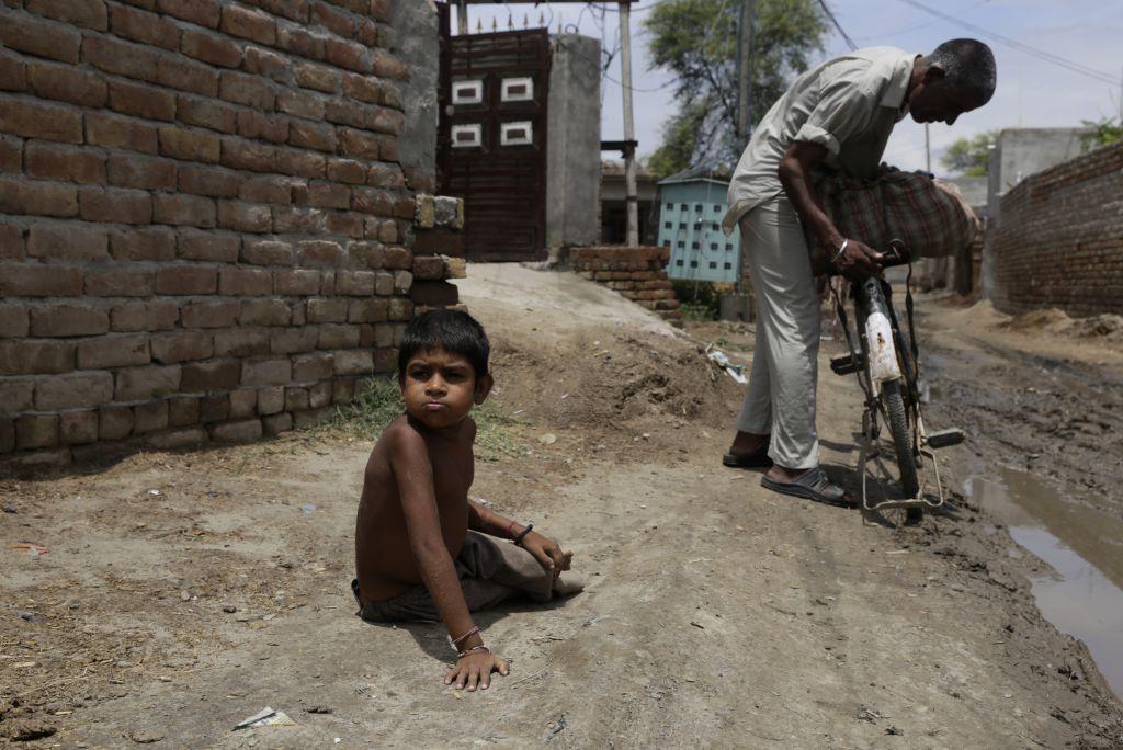 Acute malnutrition worsened among children, according to NFHS-5. Photo: Vikas Choudhary