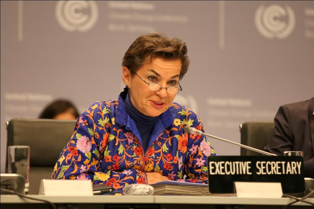 UNFCCC Executive Secretary Christiana Figueres  Credit: IISD Reporting Services