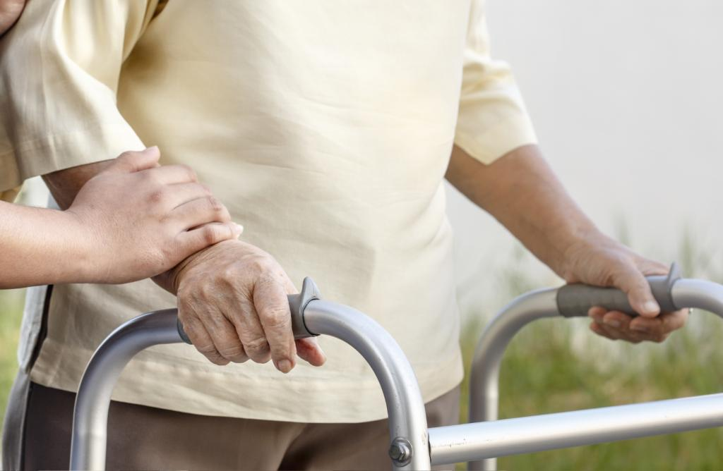 Dying in older age can mean a different sort of death, such as becoming gradually frailer in both body and mind and developing numerous health problems over many years (Photo credit: iStock)