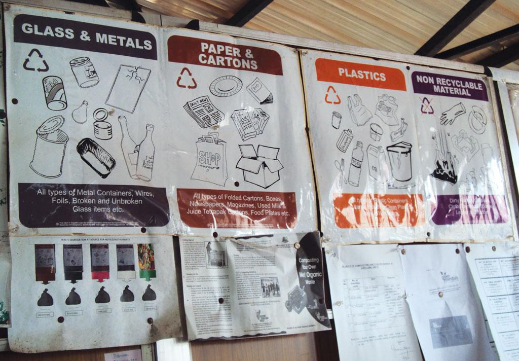 Panaji has set up 12 sorting centres to segregate dry waste (Photo: Sadia Sohail)