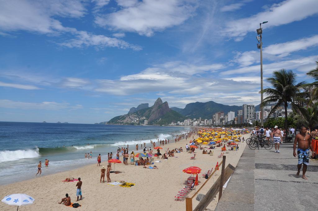 Ipanema Beach, Rio De Janeiro   Credit: Flickr