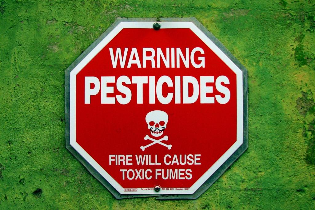 Pesticides are the main sources of EDCs  Credit: Flickr