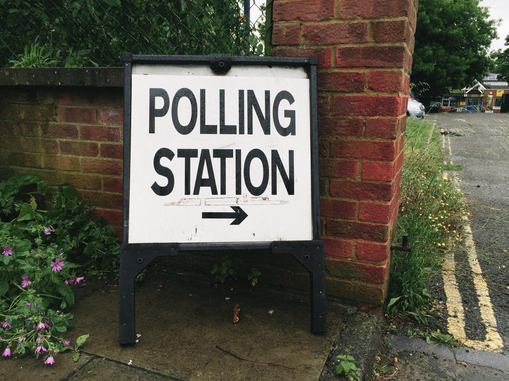 Sign at a polling station for the EU referendum vote (Photo credit: Ungry Young Man, via Flickr)