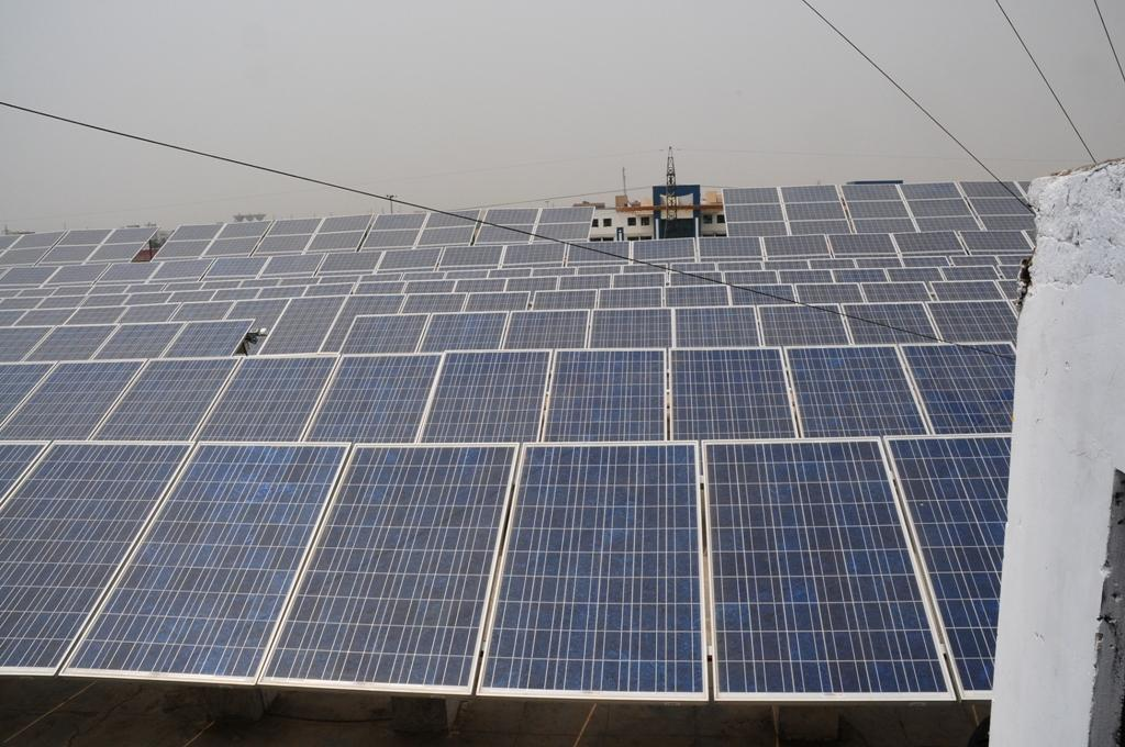 The country has announced the ambitious target of developing 100 GW of solar energy (Photo: Meeta Ahlawat)
