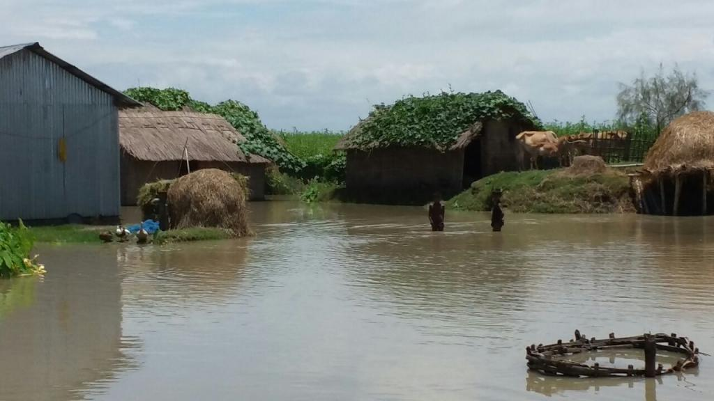 Close to 200,000 people have been affected by the floods in Assam (Photo credit: Abdul Kalam Azad)