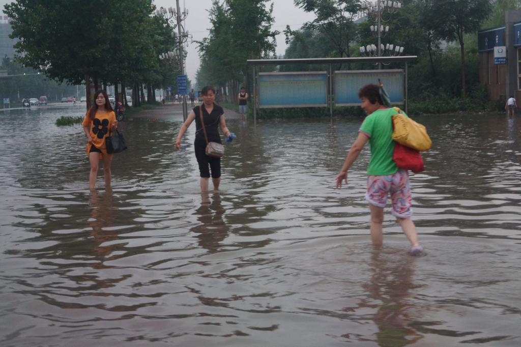 China has seen the worst flooding since 1998. Credit: LanguageTeaching / Flicker