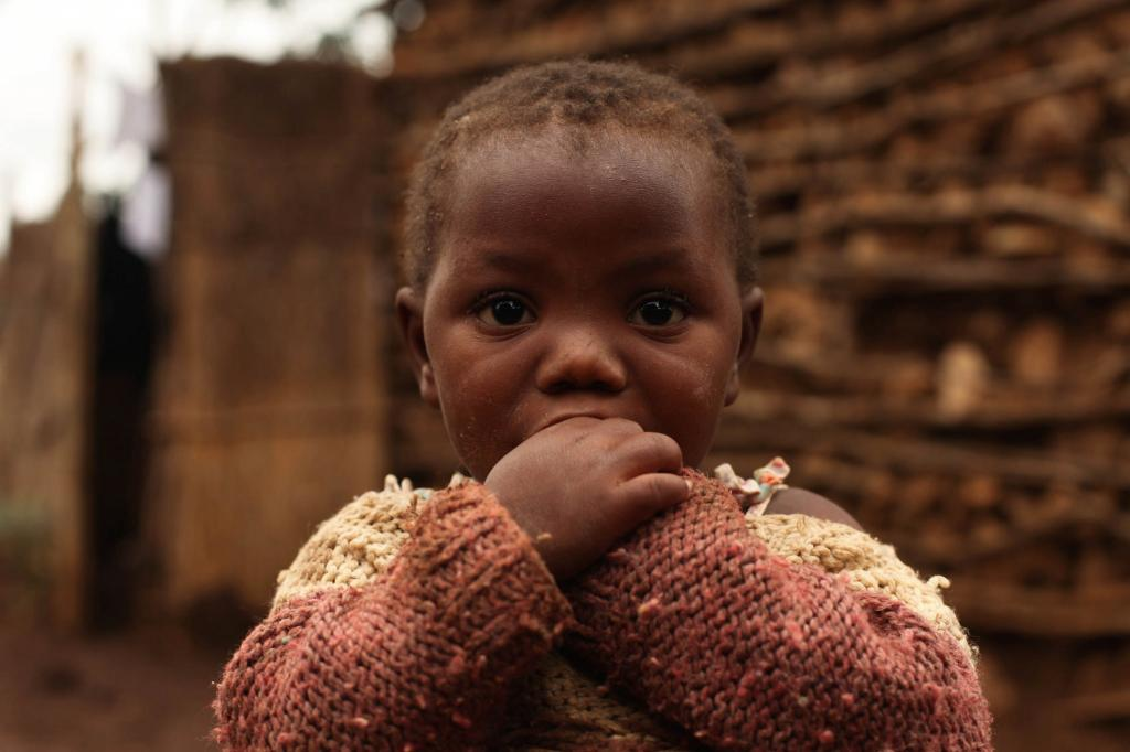 The report estimates the amount of money lost each year as a result of child undernutrition Credit: FMSC/ Flicker