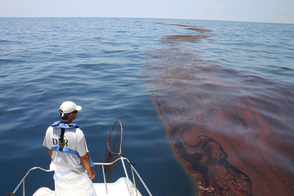 Ecuadorean have been battling for over two decades to hold Chevron responsible for oil pollution Credit: NOAA/ Flicker