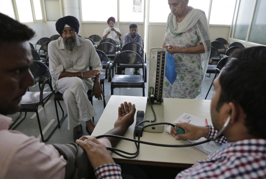 In India, overall prevalence for hypertension was 29.8 per cent (Credit: Vikas Choudhary/CSE)