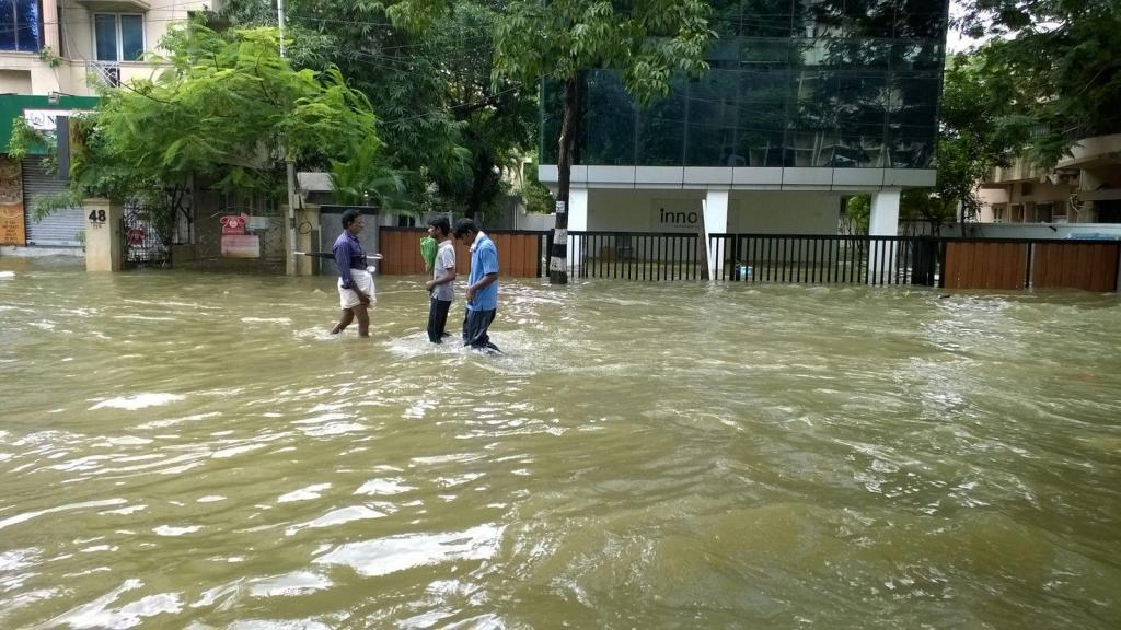 The committee observed that the drainage system across the city needs desilting. Credit: Vijay Anandh/ Flicker
