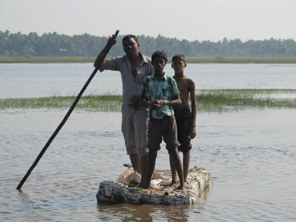 Floods have caused damage to kharif crops in states, forcing farmers to expect another season of crop failure. Credit: ThePollinationProject/Flicker