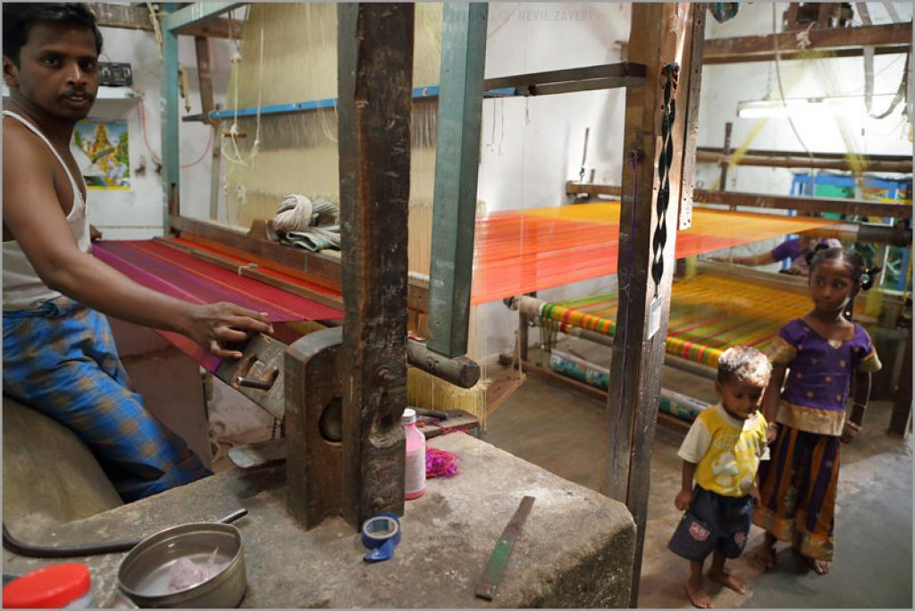 After agriculture, handloom sector provides jobs to around 6.5 million households. Credit: Nevil Zaveri/ Flicker