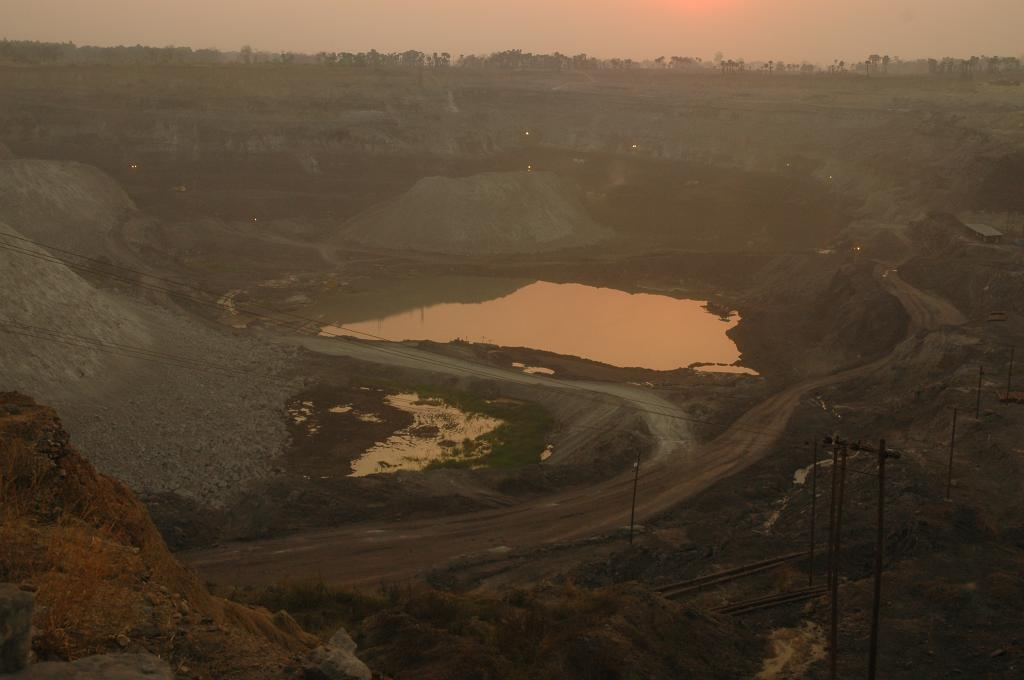 Coal mining is considered the root of many environmental problems (Credit: Agnimirh Basu/CSE)