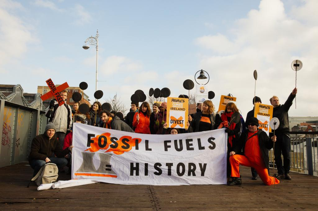 Humanity must be ready for fossil fuels to run out. Credit: Trocaire / Flicker