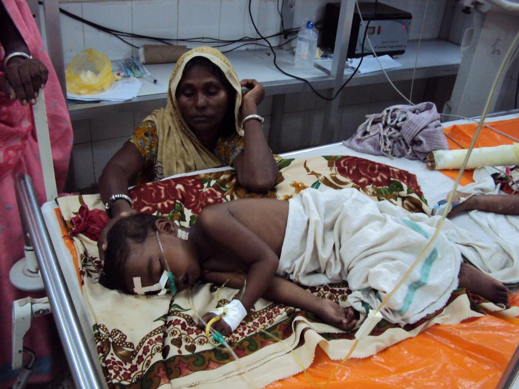 Nine children at Gorakhpur's BRD Medical College died over two days in the third week of September. Credit: Sonal Matharu / CSE