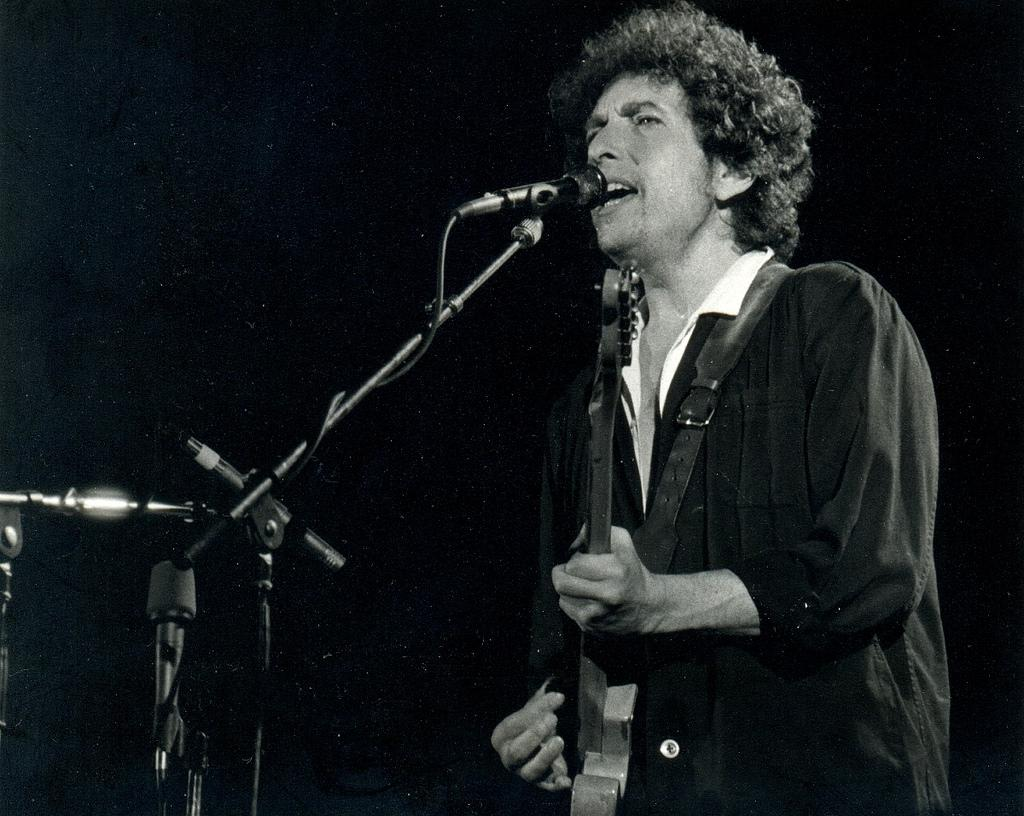 One of the greatest protest singers in the world, Dylan's songs are considered anthems of anti-war and civil rights movements. Credit: Xavier Badosa/ Flicker