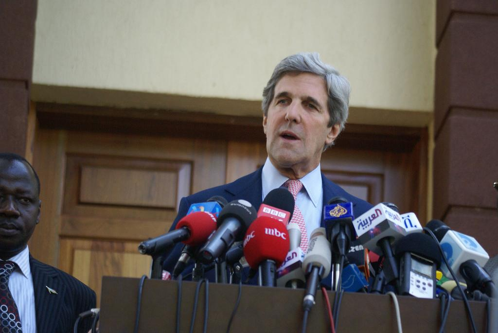 Kerry harped on the fact that the US itself suffers from heavy climate-related disasters. Credit: Al Jazeera/ Flicker