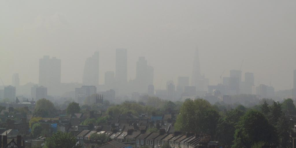 While reduced emissions have improved air quality in Europe, a large chunk of population and ecosystem is still exposed to air pollution. Credit: David Holt / Flicker