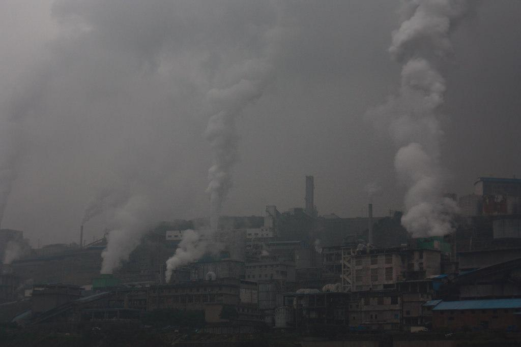 China has pledged to lower carbon dioxide emissions per unit of GDP by 60-65 per cent from the 2005 level. Credit: Leo Fung / Flicker