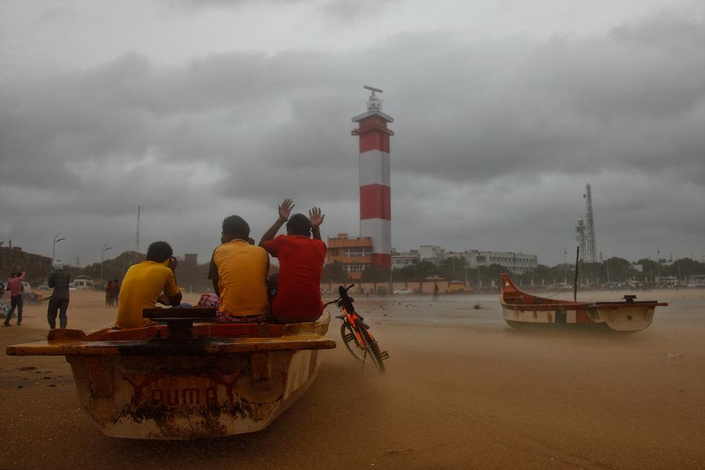 The NDRF has reportedly sent teams to Chennai, Cuddalore and Nagapttinam districts. Credit: Vinoth Chandar/ Flicker