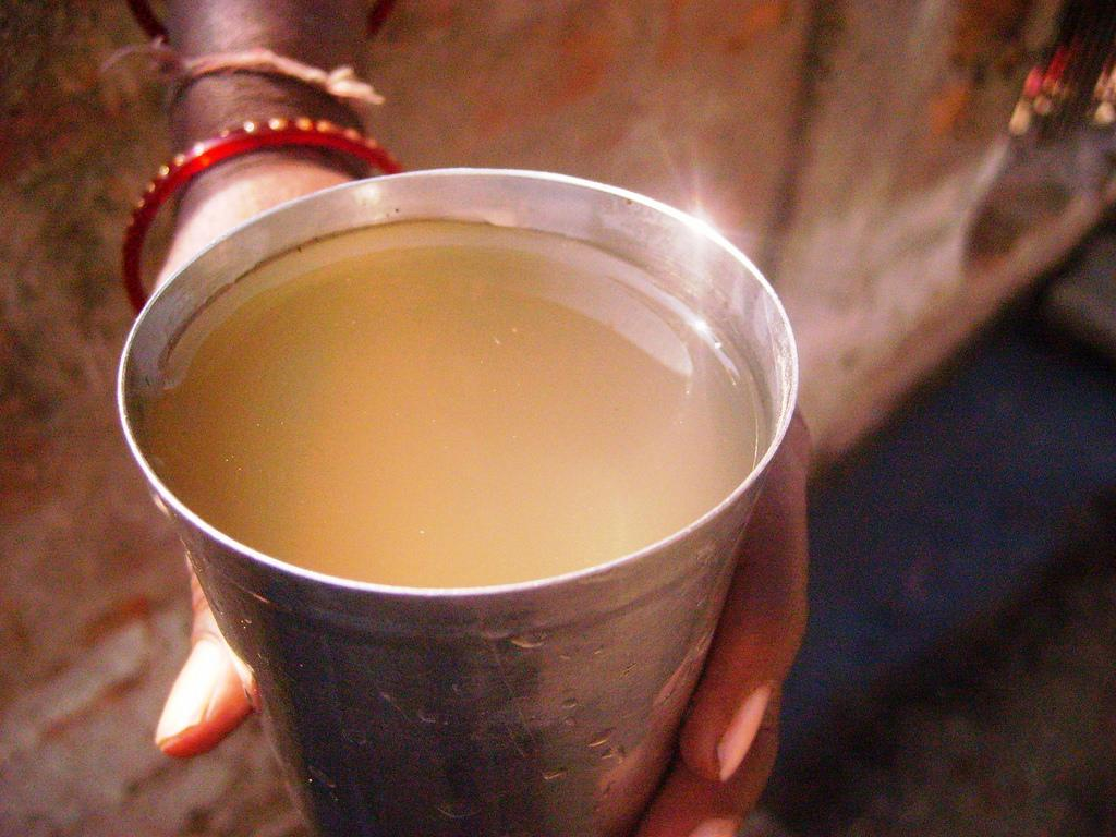 The surface water sample collected within the factory premises had the highest level of contamination. Credit: Bhopal Medical Appeal/ Flicker