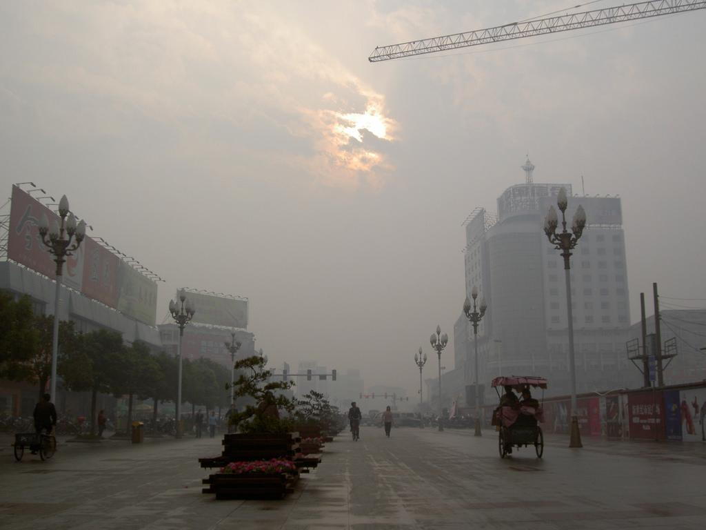 China's political leaders will likely prioritise policies that substitute natural gas for coal, which should reduce air pollutants. Credit: Sam Haldane / Flicker