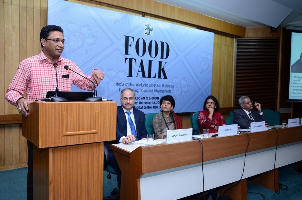 Experts recommended clear guidelines on serving size and easy-to-understand front-of-pack labelling. Credit:Sanjevi Jayaraman / CSE