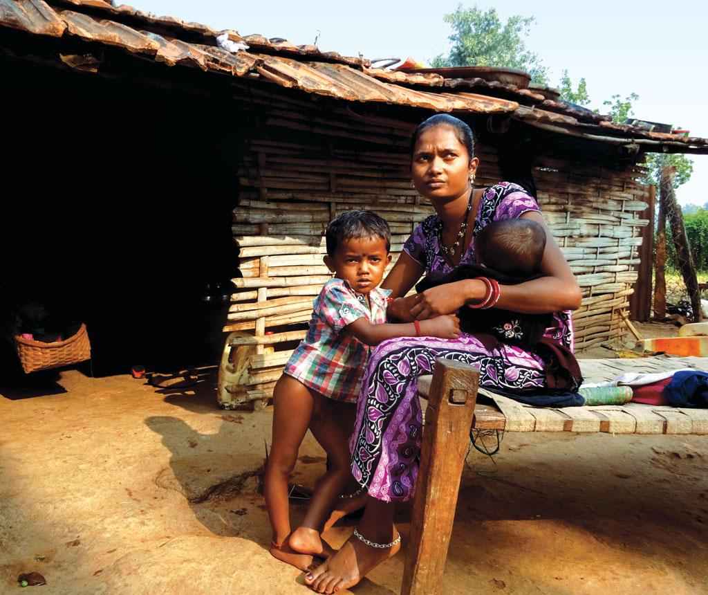 Sita, a resident of Parapur village