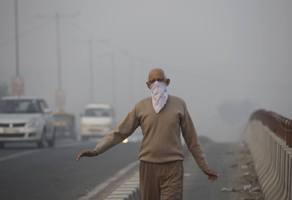 The battle against air pollution gained momentum in 2016 with the judiciary taking action to deal with it Credit: Vikas Choudhary