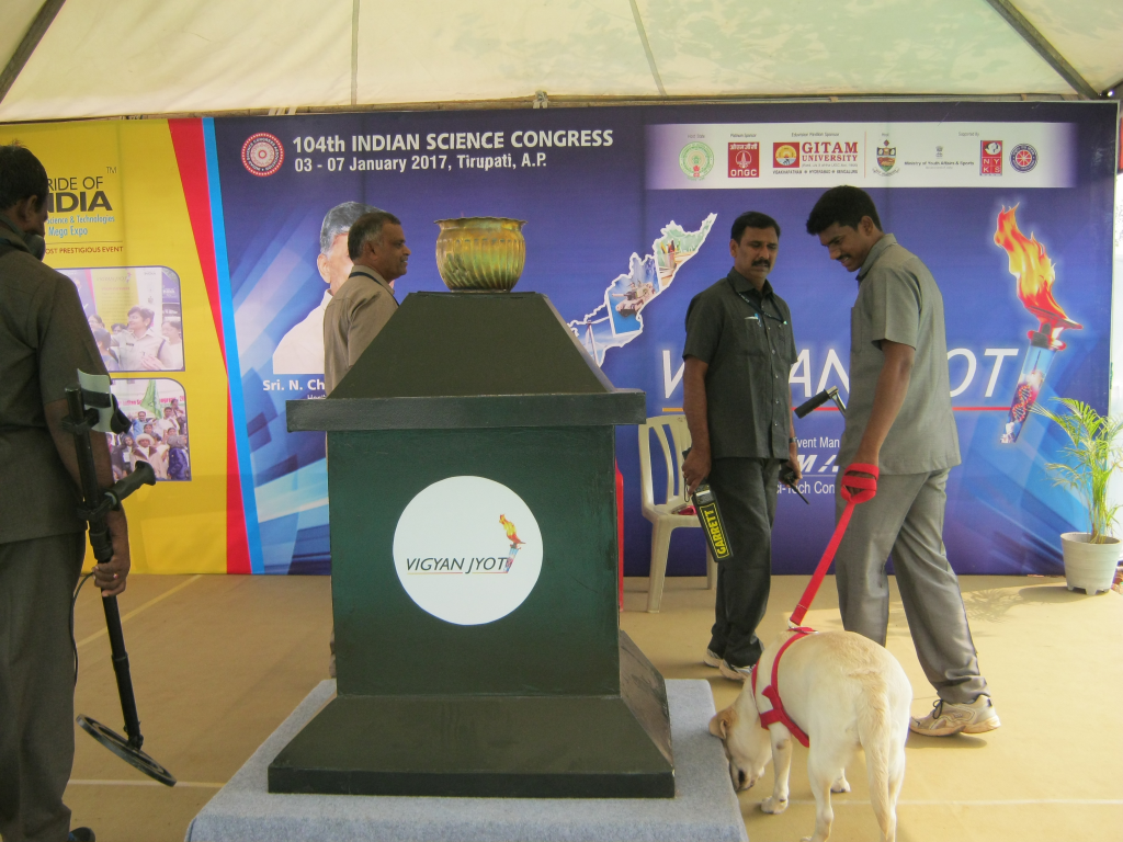 Vigyan Jyot or the flame of knowledge stood tall at the exhibit. The flame is a novel initiative to popularise science and encourage it as a career. It was conceptualised on the lines of Olympic Torch and inspired by the vision 2020 of former President A P J Abdul Kalam