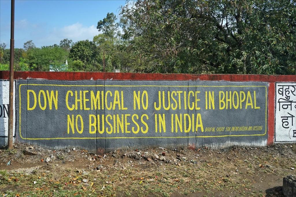 The Bhopal court will send a notice to Amy Wilson, corporate secretary of Dow Chemical Company. Credit: Jean-Pierre Dalbéra / Flicker