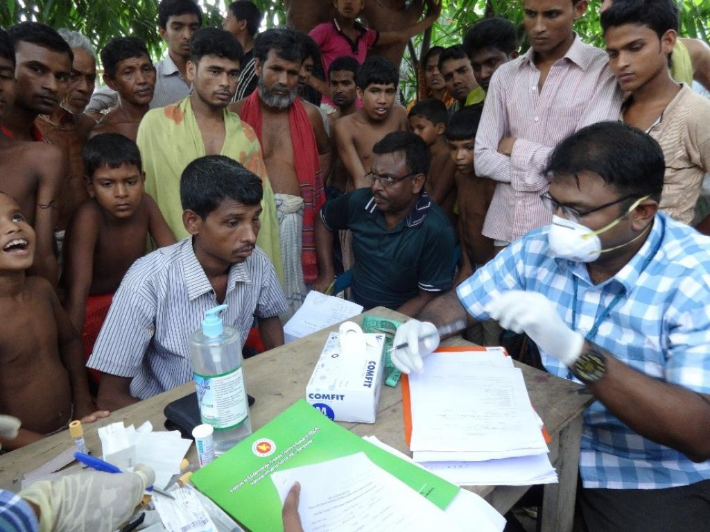 In March 2016, the government introduced Bedaquiline in six tertiary care centres across India. Credit: CDC Global/ Flicker