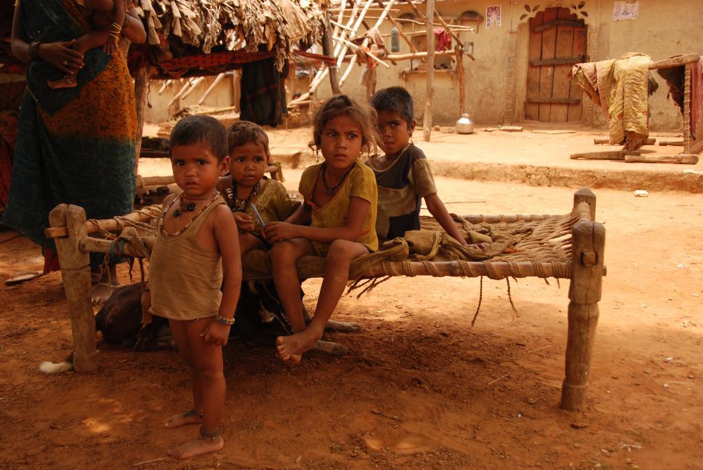 Tribal children are highly vulnerable to stunting and malnutrition, yet healthcare services are lacking (Credit: Kumar Sambhav Shrivastava/CSE)